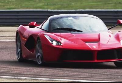 Ferrari, le F40, F50, Enzo e LaFerrari guidate da Dario Benuzzi