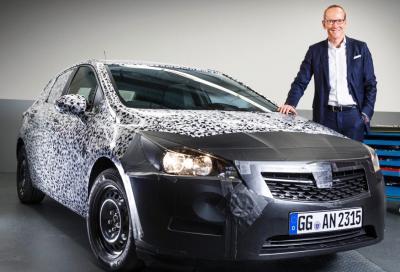 Nuova Opel Astra 2016, prime immagini