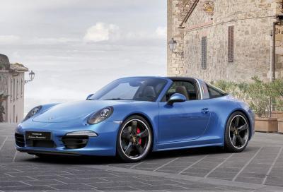 911 Targa 4S, una limited edition per i 30 anni di Porsche Italia