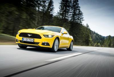 Nuova Ford Mustang 2.3 Ecoboost, le nostre prime impressioni