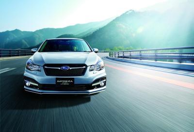 Subaru, la nuova Impreza Sport Hybrid è in pronta in Giappone