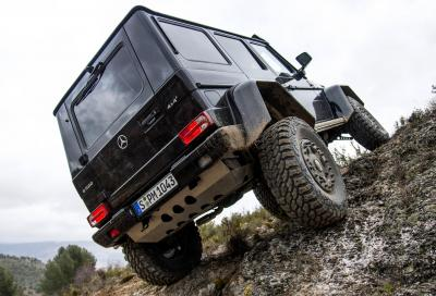 Mercedes, la G 500 4x4² entra in produzione