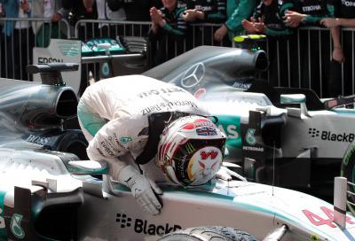 F1 2015,  GP Gran Bretagna vince Hamilton