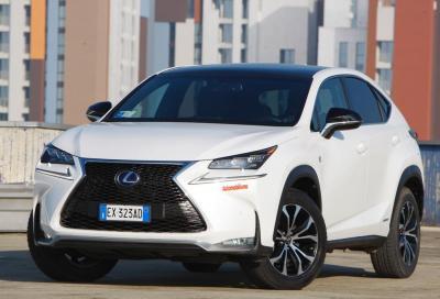 Lexus NX 300 Hybrid F Sport, la nostra prova