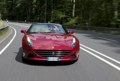 Ferrari, Vettel prova la nuova California T