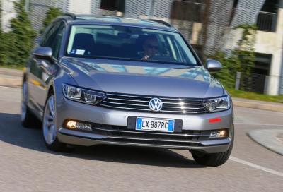 Volkswagen Passat Variant 2.0 TDI Bluemotion, la nostra prova