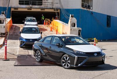 Toyota Mirai, il futuro è nell' idrogeno