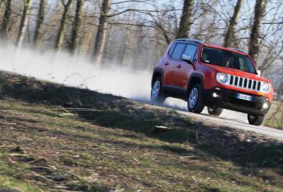 Jeep Renegade Limited 2.0 MJet 4WD, la nostra prova