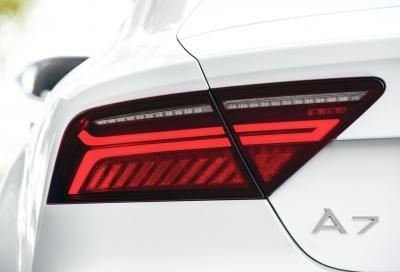 Audi, i nuovi fari Matrix OLED al Salone di Francoforte