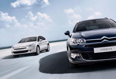 Citroën C5 e C5 Tourer, arrivano due nuovi motori