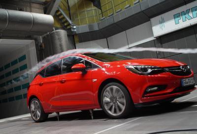 Opel, ecco come abbiamo migliorato l' aerodinamica della nuova Astra