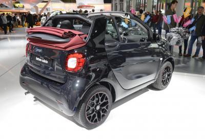 Nuova smart fortwo, la Cabrio a Francoforte