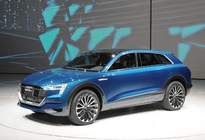 La nuova e-tron quattro concept, la prima SUV elettrica Audi