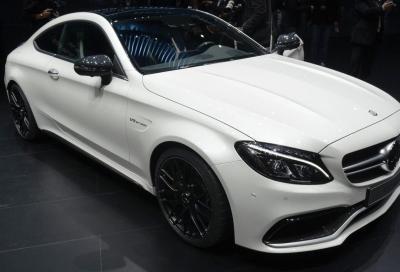 La nuova Mercedes-AMG C 63 Coupé a Francoforte