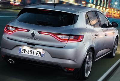 Nuova Renault Mégane 2016, video e prime immagini