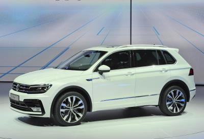Volkswagen, questa è la nuova Tiguan 2016