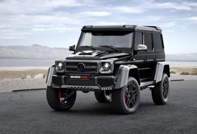 Mercedes-Benz G500 4x4² by Brabus