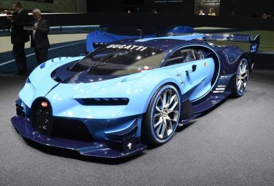 Bugatti, questa è la Vision Gran Turismo 2015