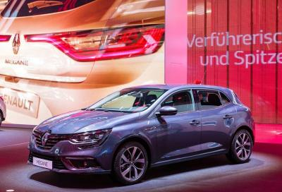 La nuova Renault Megane 2016