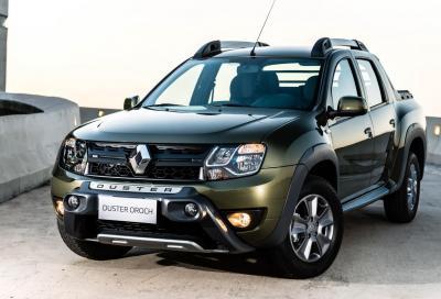 Nuova Renault Duster Oroch pickup