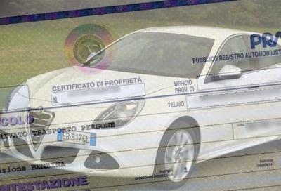 Certificato di Proprietà, da oggi è solo digitale