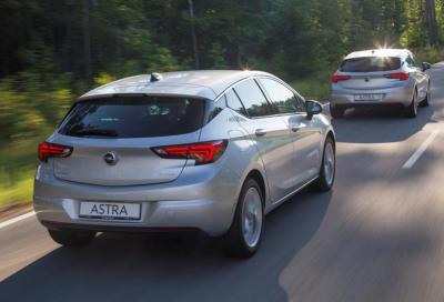Opel Astra 2016, nuovi video e listino prezzi