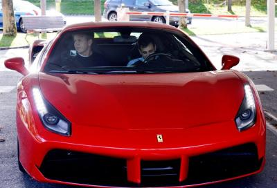 Gordon Ramsay in visita alla Ferrari