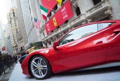 Ferrari, il titolo vola a Wall Street