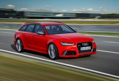 Audi svela la nuova RS6 Avant performance