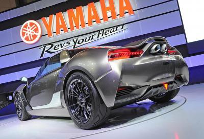 Yamaha, la nuova Sports Ride Concept a Tokyo