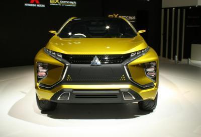 Mitsubishi, la nuova eX 1 Concept a Tokyo