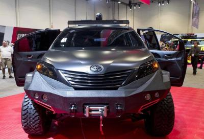 Toyota Ultimate Utility Vehicle, al SEMA 2015