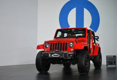 Jeep Wrangler Red Rock e Ram Rebel X al SEMA 2015