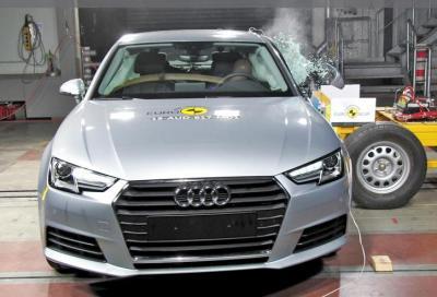 Nuova Audi A4 2015, sicurezza a 5 stelle