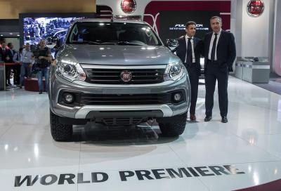 Fullback, il nuovo pick up Fiat