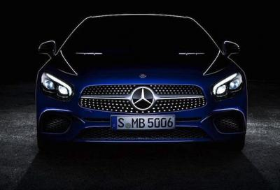 Mercedes SL facelift, prima immagine