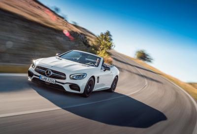 Mercedes questa è la rinnovata SL 2016