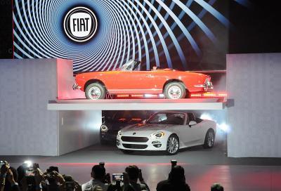 Nuova Fiat 124 Spider , 4 video e 70 immagini