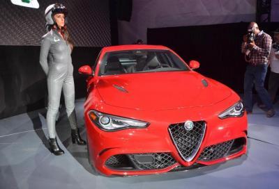 Alfa Romeo Giulia Quadrifoglio, foto e e video LA Auto Show e MY 2017