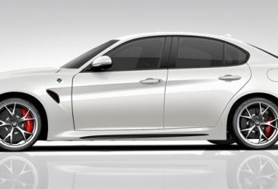 Nuova Alfa Romeo Giulia Quadrifoglio MY 2017, il configuratore e le dotazioni in USA