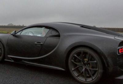 Bugatti Chiron 2016, hypercar ibrida da 1500 cv