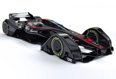McLaren MP4-X F1-Concept, la monoposto del futuro