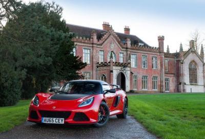 Nuova Lotus Exige Sport 350, più veloce e leggera