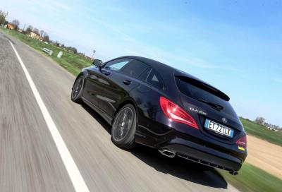 Mercedes CLA Shooting Brake 200 CDI, caccia aperta