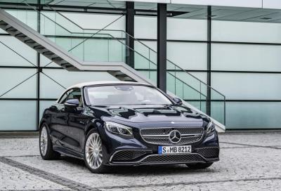 La nuova Mercedes-AMG S 65 Cabriolet