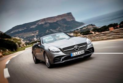 Mercedes, nuovi video e listino della SLC 2016 che parte da 37.000 euro