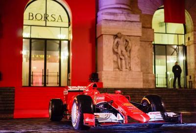 La Ferrari quotata anche alla Borsa di Milano