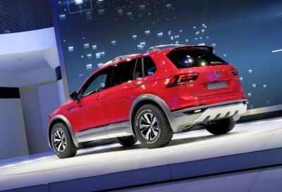 Volkswagen, la nuova Tiguan GTE Active Concept a Detroit