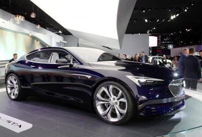 Design, premiata a Detroit la Buick Avista Concept
