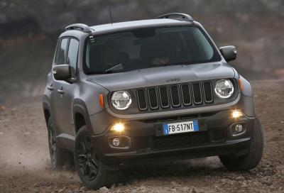 Jeep Renegade Night Eagle, il listino parte da 27.490 euro